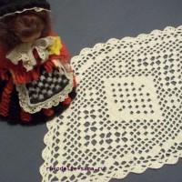 Филейное вязание: изумительные клеточки из бабушкиного сундука