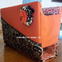 Декоративный контейнер — коробка