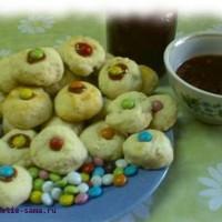 Домашняя выпечка печенье «Пуговки»