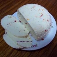 Домашний сыр из молока, вкусно и полезно