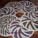 Жаккардовое вязание крючком по кругу