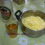 Тесто слоёное на пиве