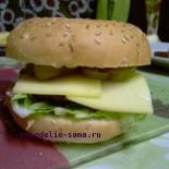 Гамбургер в домашних условиях, элементарно просто