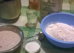 Печем хлеб на закваске в хлебопечке