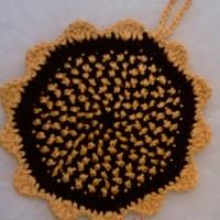 Вязание плотного плоского круга от центра