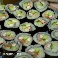 Приготовить суши в домашних условиях, значит удивить и накормить